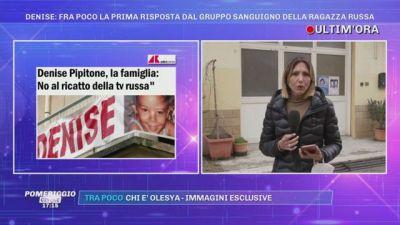Denise Pipitone: ''Nessun ricatto dalla tv russa''
