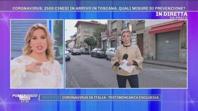 Coronavirus: a Prato 2500 cinesi in arrivo dalla Cina