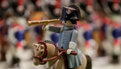 La vita di Napoleone e la battaglia di Waterloo in versione Playmobil