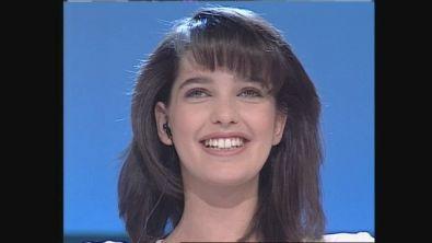 Il gioco di Alessia Merz a Non è la Rai 1993