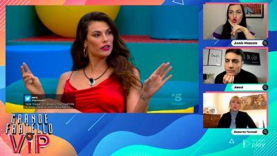 GF VIP Party, la mamma di Andrea Zenga commenta il confronto al GF Vip tra Dayane Mello e Rosalinda Cannavò