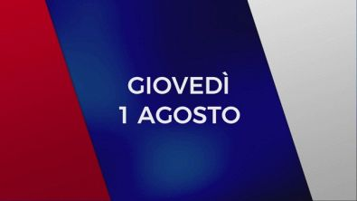 Stasera in Tv sulle reti Mediaset, 1 agosto