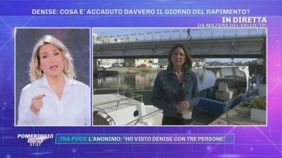 La scomparsa di Denise Pipitone. Il testimone sordomuto: '' Denise portata su una barca fino a un faro''