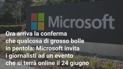Il nuovo Windows sta arrivando