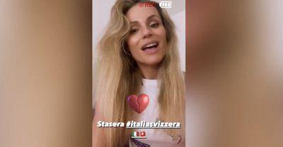 Michelle Hunziker svela su Instagram chi tiferà agli Europei