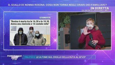 Il giallo di nonna Rosina: gli sviluppi dell'inchiesta e testimonianze esclusive