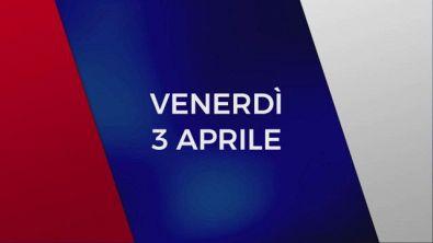 Stasera in Tv sulle reti Mediaset, 3 aprile