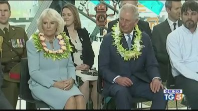Il principe Carlo e Camilla in Nuova Zelanda