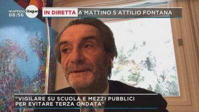 Attilio Fontana e la riapertura delle scuole