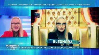 Lite tra Eleonora Giorgi e la marchesa