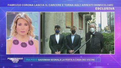 Fabrizio Corona torna agli arresti domiciliari - Parla l'avvocato