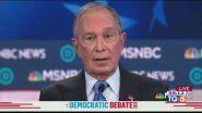 """Bloomberg si presenta: """"posso battere Trump"""""""