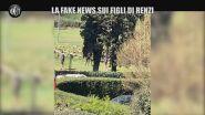 La fake news sui figli di Renzi