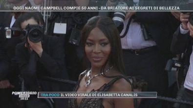 Oggi Naomi Campbell compie 50 anni