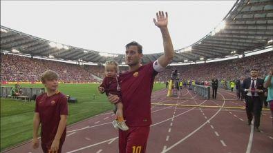 L'addio integrale di Totti