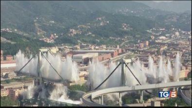 Ponte Morandi non esiste più