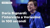 Daria Bignardi: l'intervista a Verissimo in 100 secondi