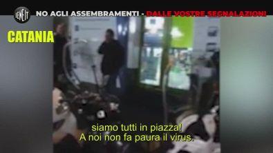 Coronavirus, assembramenti vietati e nel video fanno gli spiritosi