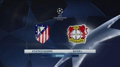 Atletico Madrid-Bayer 0-0
