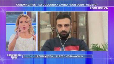 Emergenza Coronavirus: da Codogno a Lauro - Parla Luca