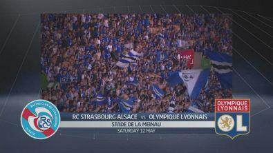 Strasburgo - Lione 3-2