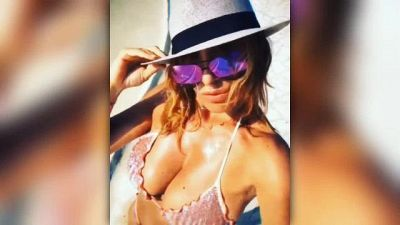 Sabrina Salerno, splendida in bikini