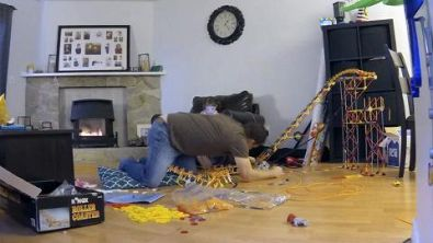 Building the classic K'Nex Roller Coaster