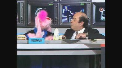 Uan è ospite a Buon Compleanno Canale 5 insieme al suo doppiatore Giancarlo Muratori