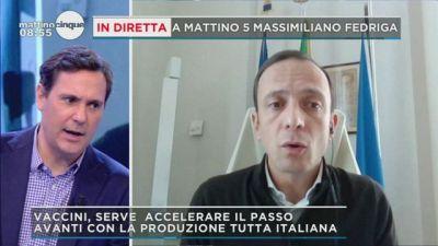 Le parole di Massimiliano Fedriga su economia e pandemia