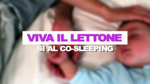 Viva il lettone, si' al co-sleeping