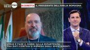 In diretta Stefano Bonaccini, oresidente dell'Emilia Romagna