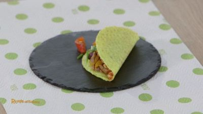 Tacos con chili di carne