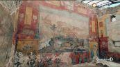 Rivive il grande affresco di Pompei