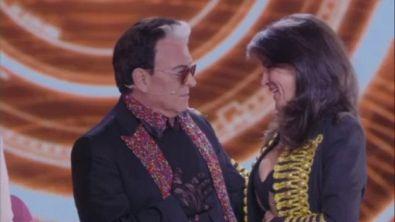 Il faccia a faccia tra Cristiano e Aida