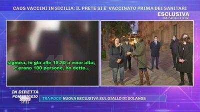 Scicli. Caos vaccini in Sicilia: il prete si è vaccinato prima dei sanitari