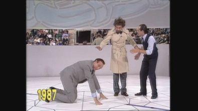 I migliori scherzi subiti da Pippo Baudo a Festival 1987