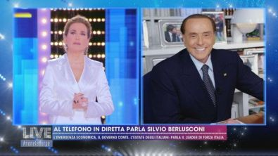 """Silvio Berlusconi: """"Dopo il covid la Cina riproporrà la sua sfida all'Occidente"""""""