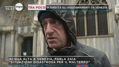 Venezia: le parole del governatore Zaia