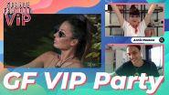 GF VIP Party Ep.4: Annie Mazzola e Awed in diretta assieme a Valeria Angione