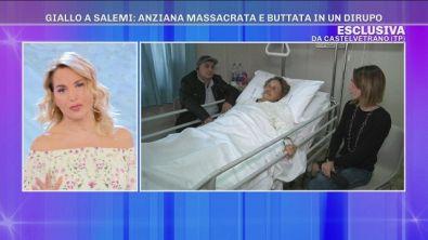 Giallo a Salemi: anziana massacrata e buttata in un dirupo