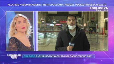 Allarme assembramenti - In diretta dalla Stazione Centrale di Milano