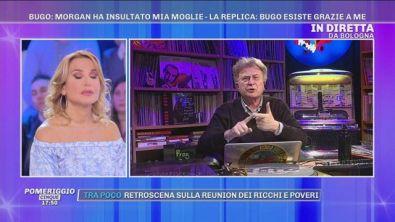 """Red Ronnie: """"Morgan ha portato la verità a Sanremo"""""""