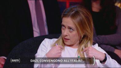 Dazi, convengono all'Italia?