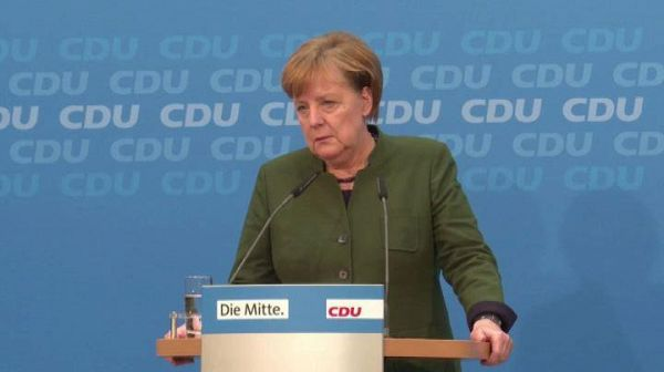 Governo Germania, Merkel pronta a 'serie trattative' con Spd