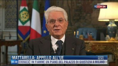 Breaking News delle 09.00 | Mattarella: appello all'Ue