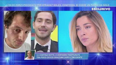 """""""L'ex di Tommaso Zorzi si è dato un pugno e ha finto di essere stato aggredito"""""""