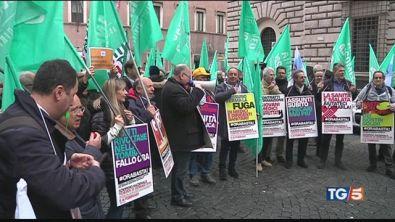 La protesta dei medici