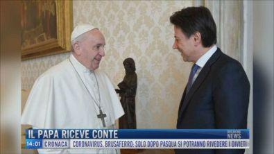 Breaking News delle 14.00 | Il Papa riceve Conte