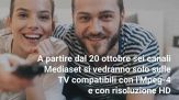 Digitale Terrestre: anche Mediaset cambia codifica a ottobre
