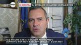 Covid, le parole del sindaco di Napoli De Magistris